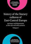 XIX. History of the Literary Cultures of East-Central Europe: Junctures and disjunctures in the 19th and 20th centuries. Ed. Marcel Cornis-Pope, John Neubauer. Amsterdam: Benjamins. 2004. 648 pp. vol. 1featured image
