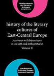 XX. History of the Literary Cultures of East-Central Europe: Junctures and disjunctures in the 19th and 20th centuries. Ed. Marcel Cornis-Pope and John Neubauer. Amsterdam: Benjamins, 2006. vol. 2featured image